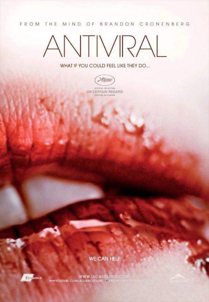 Antiviral [MOVIE TRAILER.]
