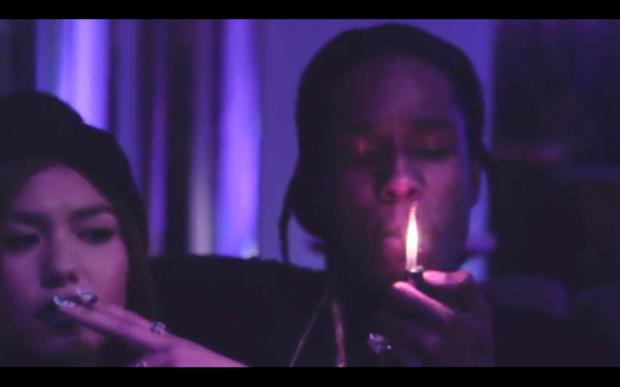 ASAP Rocky – Purple Kisses [MUSIC VIDEO.]