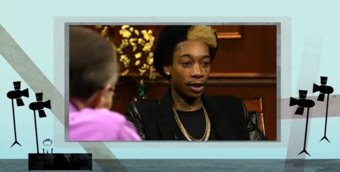 Wiz Khalifa on Larry King LIVE! [INTERVIEW.]