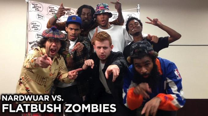 Nardwuar vs. Flatbush Zombies [INTERVIEW.]