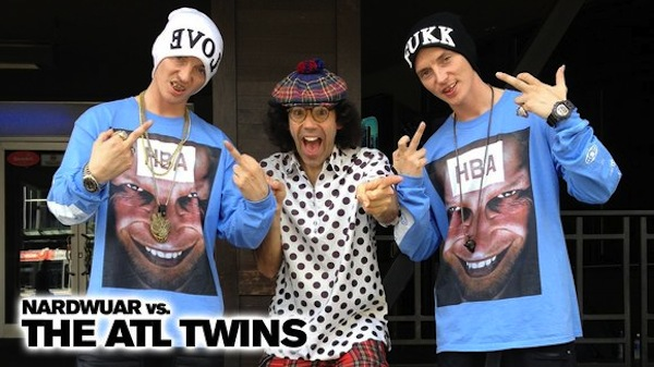 Nardwuar vs. The ATL Twins [INTERVIEW.]