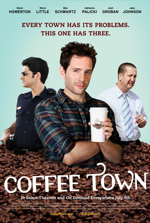 Check Out Josh Groban Flexing His Funny Bone In Coffee Town TRAILER.