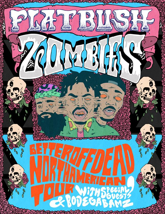 Flatbush Zombies Prepare To Embark On Their FIRST North American Tour…We're Happy!