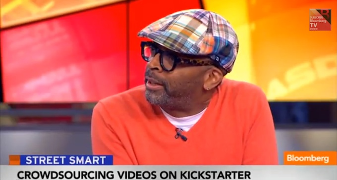 Spike Lee Does The Right Thing And Gets PISSED During Bloomberg (INTERVIEW.)