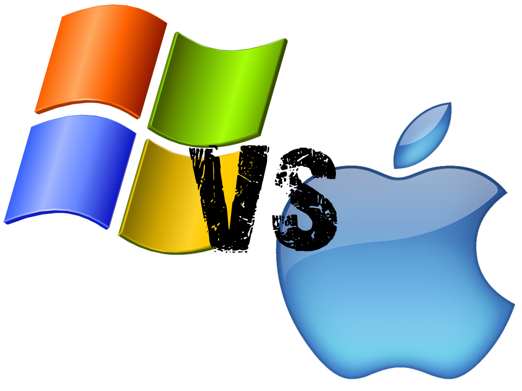 a comparison of apple macs and microsoft pcs