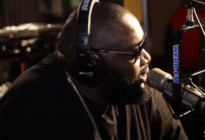 Rick Ross Gets SERIOUS Talking On Gang Threats! [INTERVIEW.]
