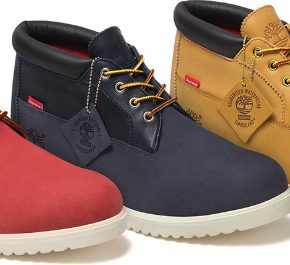 Timberland Waterproof Chukka Boots X Supreme [FIRST LOOK.]