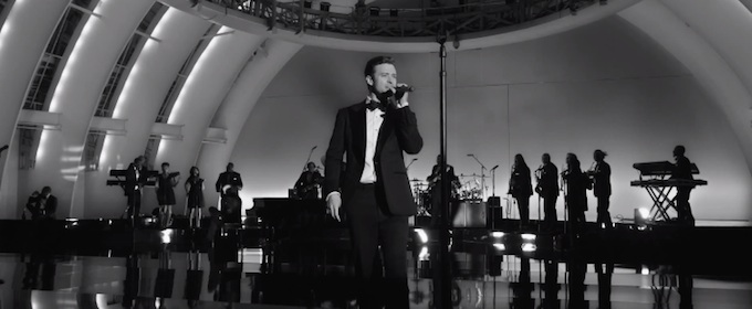 Justin Timberlake Suit And Tie Cover