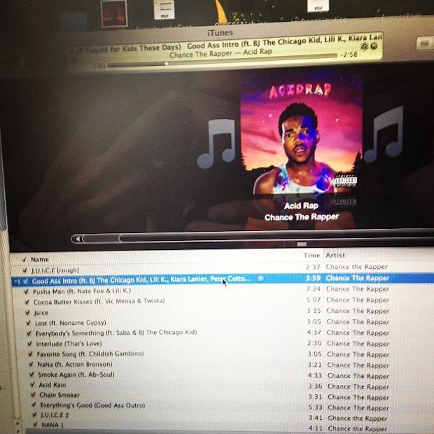 acid raps track