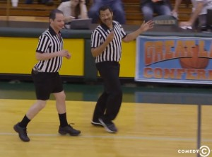 Nick Kroll & Jordan Peele Take Turns Calling Fouls As High School Gym Refs