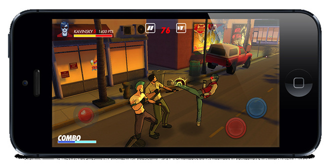 Kavinsky iphone Game