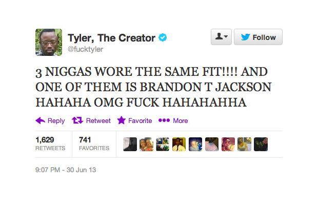 Tyler Creator Tweet
