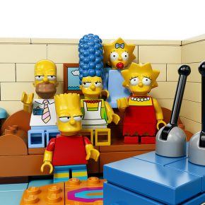 The House of Simpsons' LEGO-fied!