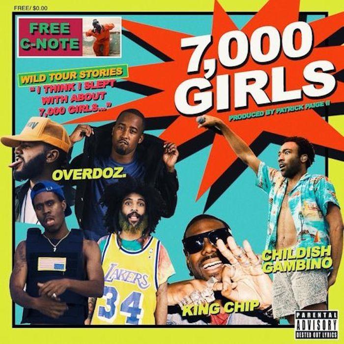 7000 girls artwork