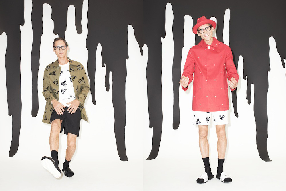 Band of Outsiders x Mackintosh -faux society -2
