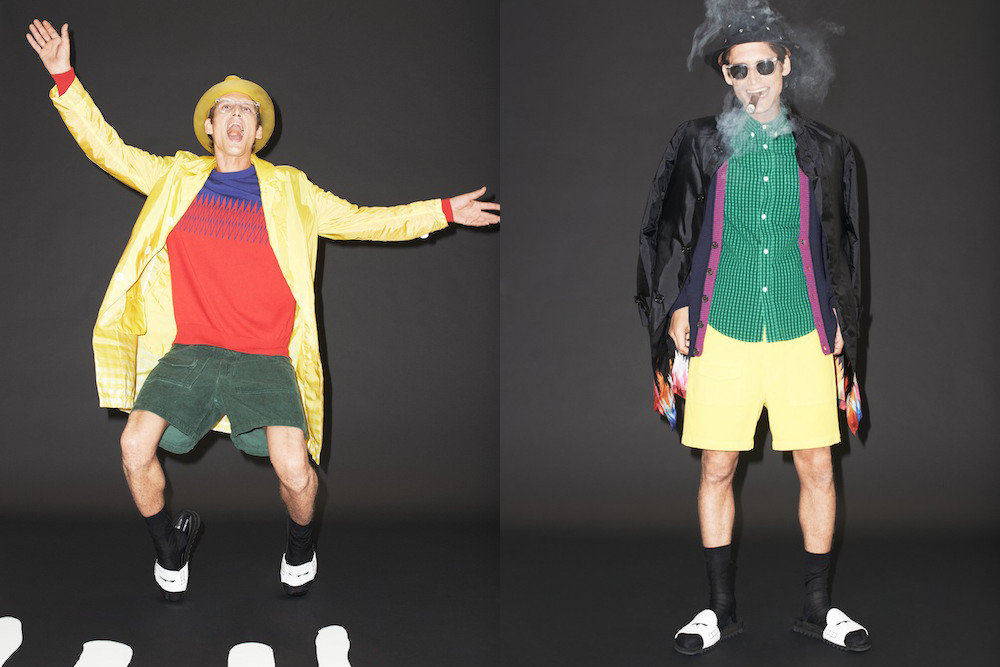 Band of Outsiders x Mackintosh -faux society -3