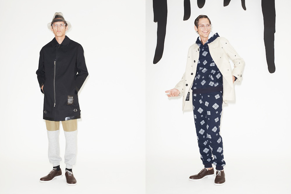 Band of Outsiders x Mackintosh -faux society -4