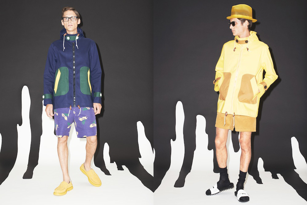 Band of Outsiders x Mackintosh -faux society -5