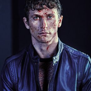 "Actor Jonathan Tucker Gets Bloody in ""Fashion Kills"" (EDITORIAL.)"