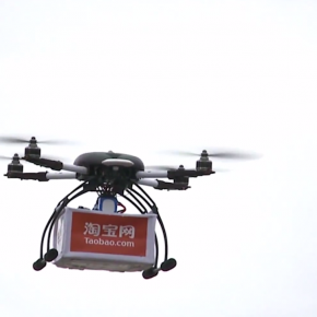Taobao Beats Amazon in The Drone Delivery Race
