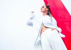 "BKBT Concept's ""Crimson/White Matter"" (LOOKBOOK.) Featuring Natalie Emmons"